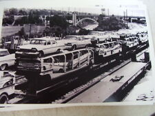 1959 PLYMOUTH & CHRYSLER  NEW CARS   ON CAR  CARRIER  11 X 17  PHOTO  PICTURE