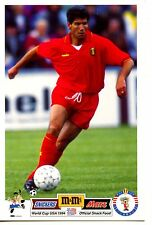 Vincenzo Enzo Scifo Soccer Player-Sports-1994 World Cup Vintage Postcard