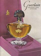 Publicité ancienne parfum 1955  issue de magazine
