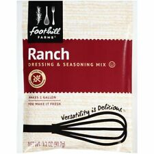 Foothill Farms Ranch Dressing (no Msg) Mix, 3.2-Ounce Units (Pack of 18)