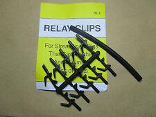 4 x Packs of 10 BREAKAWAY TACKLE RELAY CLIPS