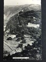 Vintage Postcard - Devon #128 - RP Lynmouth, Countisbury Hill