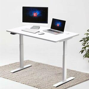 Hi5 Rectangular Electric Height Adjustable Sit Standing Desk 120*60cm (UK Plug)