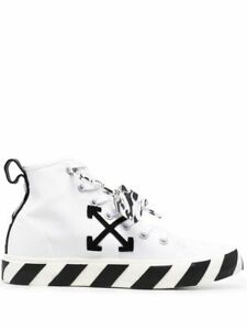 OFF WHITE Men's Shoes Sneakers White NIB Authentic 40 41 42 43 44 45