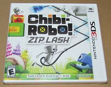 Chibi-Robo! Zip Lash (Nintendo 3DS) Brand New / Fast Shipping
