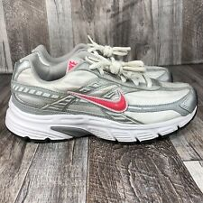 Nike Women's Initiator SIZE 7.5 Running Shoes White Black Pink Sneakers Athletic