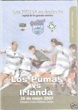 ARGENTINA v IRELAND 26th May 2007 - 1st Test RUGBY PROGRAMME