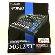 YAMAHA MG12XU 12-CHANNEL MIXER W/ EFFECTS 24Bit USB OUT- PERFECT Condition!!