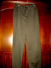 Olive Pants - Size 10 M - by Lee - Cotton/Polyester Blend - Inseam 31,Waist 30