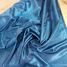 Luz azul brillante Tafetán Tela de 150 Cm de Ancho p//mtr