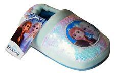 DISNEY FROZEN 2 ANNA & ELSA Sequin Slippers Toddler's Size 5-6, 7-8 or 9-10 NWT