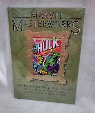 Marvel Masterworks HC Incredible Hulk SEALED Hardcover 181 Wolverine 171-183