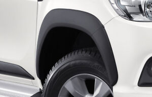 TOYOTA HILUX 2016-2017-2018 GENUINE ACCESSORIES FENDER FLARES WHEEL ARCH SET OF4