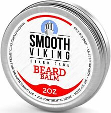 Beard Balm Leave-in Conditioner- Styles Strengthens Thickens Smooth Viking