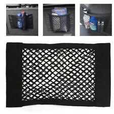 Car Auto Trunk Organizer Rear Seat String Net Mesh Storage Bag Pocket Cage Black