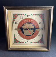 Vintage H.J. Heinz Co. Pickling & Preserving Pittsburgh, PA Wall Hanging Clock