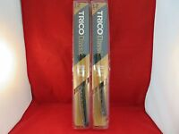 """Trico 33-122 Classic Wiper Blade 12"""" SET Antique Vintage Styling  Silver QTY 2"""
