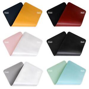 Double Side Mouse Pad Large Size Anti-Slip Mousepad Waterproof Keyboard Mice Mat