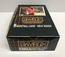 1990-91 Skybox Basketball Series 1 Unopened Box ~ Look for Michael Jordan cards!