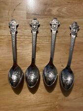 Rolex Spoon Set Lot X4 Bucherer of Switzerland CB Lucerne St. Moritz NR