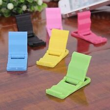 Universal Foldable Mini Cell Phone Stand Holder for iPhone 6 5 5S Samsung HTC LG