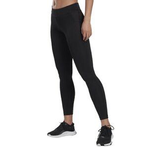 Reebok Women's Workout Ready Tights (Black/Black)- FREE SHIPPING