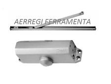 CHIUDIPORTA AEREO MAB SERIE GUARDIAN DC110 FUNZIONE A SLITTA CON FERMO ARGENTO
