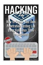 Hacking: How to Create Your Own Penetration Testing Lab In 1 Hr! (Kali Linux Boo