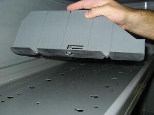 NIB Adrian Steel DV14C8 Shelf Divider Kit, Fits AD Series