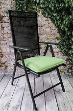 Sitzkissen Gartenkissen Stuhlkissen Bootkissen Wasserabweisend Lime 42,5x46,5cm