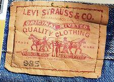 LEVI STRAUSS Original 985 LEVI'S JEANS Low Tight Flare Women W25 L34 Size 7 BNWT