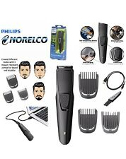 Philips Norelco Beard Trimmer w/ 3 Attachments Cordless Hair Clipper Series 1000