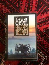 Sharpe's Triumph by Bernard Cornwell (1998). 1st Us ed. Hc w/Dj. Richard Sharpe