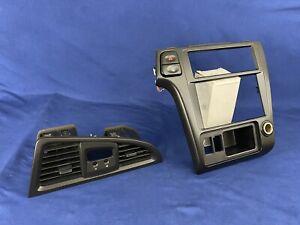 2001-2004 Nissan Pathfinder Infinity QX4 Radio Trim Dash Bezel Vents Black