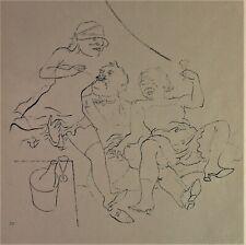 George GROSZ (1893-1959) - BORDELLSZENE - Litho 1922/23 -  Ecce Homo Blatt 30