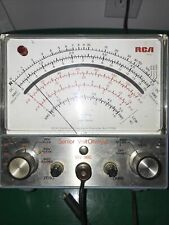 Rca Vintage Senior Voltohmyst Multimeter Wv 98c Power Up 6x7x4 See Pictures