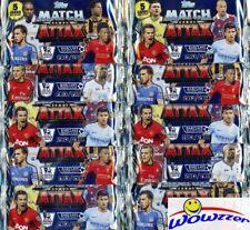(10) 2013/2014 Topps Match Attax Premier League Soccer Factory Sealed Foil Packs