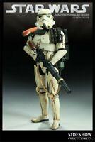 SIdeshow 1/6 Scale SANDTROOPER SQUAD LEADER TATTOINE Action Figure Star Wars