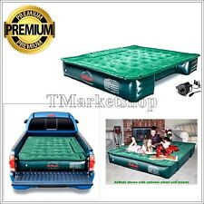 Mattress Air Bed Truck Inflatable AirBed Full Size 6'-8' Travel Camping w/ Pump