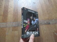 DVD DESSIN ANIME MANGA MUSASHI tome 2 la voie du pistolet  2 dvd