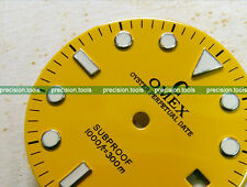 NOS Yellow Submariner Sub-Proof Scuba Dial For DG2813 Mechanical Movement 0593UK