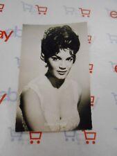 Vintage Connie Francis Sander Verlag Photo Postcard Nice Unused Singer