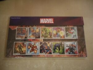 Royal Mail - Marvel Comics / Heroes  - GB Stamps Presentation Pack 2019 MINT