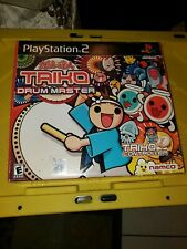 Taiko Drum Master Bundle With Controller And Game Ps2 Great Condition Complete