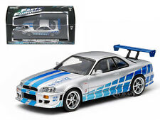 2 FAST 2 FURIOUS (2003) 1999 NISSAN SKYLINE GT-R 1/43 GREENLIGHT 86208