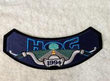 Harley Davidson Motorcycles HOG 1994 Patch