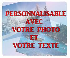tapis de souris personnalisable avec photo / texte au choix réf 00