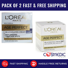 L'Oreal Paris Age Perfect REHYDRATING DAY and NIGHT CREAM