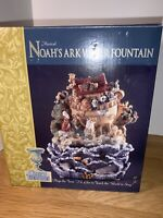 "Musical Noah's Ark Water Fountain Resin6""x6"" I'd Like To Teach The World To Sing"