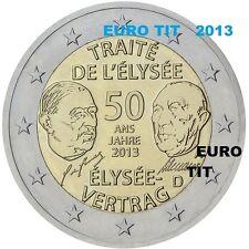 2  €   ALLEMAGNE    1   x   PIECE  NEUVE  TRAITE   ELYSEE   2013   /  DISPONIBLE